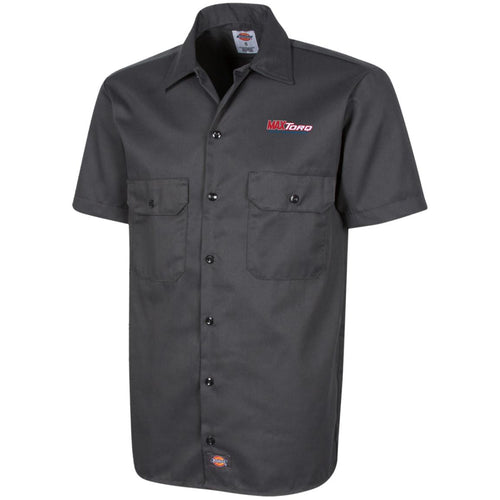 MaxTorq embroidered logo 1574 Dickies Men's Short Sleeve Workshirt