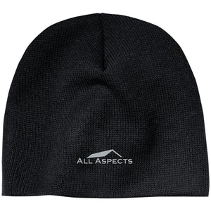 All Aspects Property silver embroidered CP91 100% Acrylic Beanie