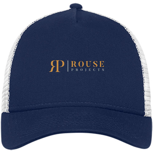 Rouse Projects - Gold & Silver embroidered NE205 New Era® Snapback Trucker Cap