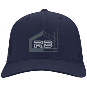 Rullo embroidered logo C813 Port Authority Flex Fit Twill Baseball Cap