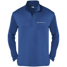 Load image into Gallery viewer, MacMechanic silver embroidered logo ST357 Sport-Tek Competitor 1/4-Zip Pullover