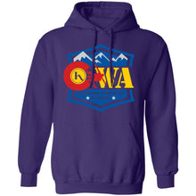 Load image into Gallery viewer, Colorado Wrestling Academy 2-sided print G185 Gildan Pullover Hoodie 8 oz.