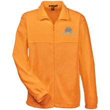 Load image into Gallery viewer, Dusty Dog silver embroidered logo M990 Harriton Fleece Full-Zip