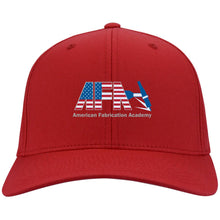 Load image into Gallery viewer, AFA embroidered logo C813 Port Authority Flex Fit Twill Baseball Cap