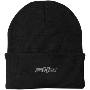 SHO embroidered CP90 Port Authority Knit Cap
