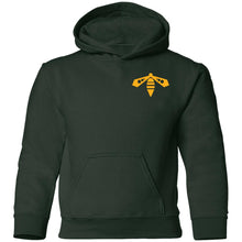 Load image into Gallery viewer, BeehiveFAB 2-sided print G185B Gildan Youth Pullover Hoodie