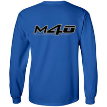 Load image into Gallery viewer, M4O 2-sided print G240 Gildan LS Ultra Cotton T-Shirt