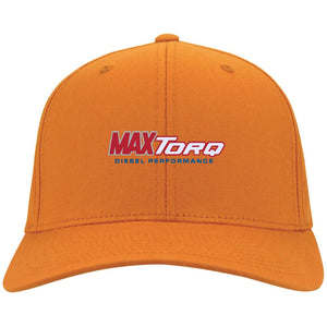 MaxTorq embroidered logo C813 Port Authority Flex Fit Twill Baseball Cap