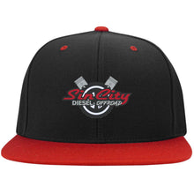 Load image into Gallery viewer, Sin City embroidered STC19 Flat Bill High-Profile Snapback Hat