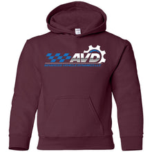 Load image into Gallery viewer, Advanced Vehicle Dynamics G185B Gildan Youth Pullover Hoodie