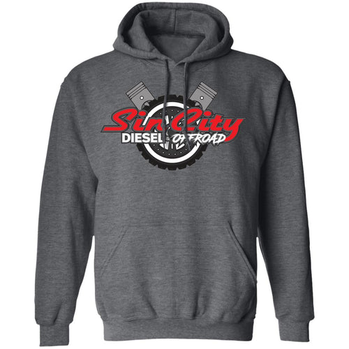 Sin City 2-sided print G185 Gildan Pullover Hoodie 8 oz.