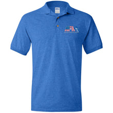 Load image into Gallery viewer, AFA embroidered logo G880 Gildan Jersey Polo Shirt