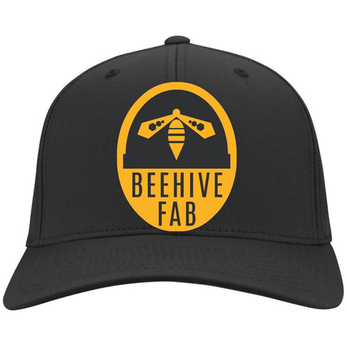 Beehive FAB embroidered logo C813 Port Authority Flex Fit Twill Baseball Cap