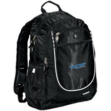 Load image into Gallery viewer, Roxtar Trux blue and silver embroidered logo 711140 OGIO Rugged Bookbag