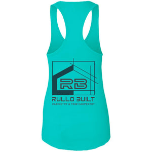 Rullo 2-sided print NL1533 Next Level Ladies Ideal Racerback Tank