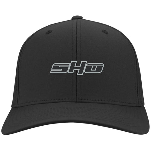 SHO embroidered C813 Port Authority Flex Fit Twill Baseball Cap