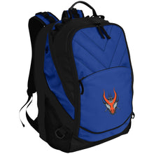 Load image into Gallery viewer, HYDRA Offroad silver embroidered logo BG100 Port Authority Laptop Computer Backpack