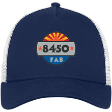 Load image into Gallery viewer, 8450 embroidered logo NE205 New Era® Snapback Trucker Cap