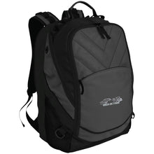 Load image into Gallery viewer, High Octane white & silver embroidered logo BG100 Port Authority Laptop Computer Backpack