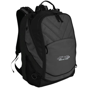 High Octane white & silver embroidered logo BG100 Port Authority Laptop Computer Backpack