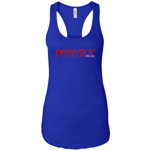 Dark Side Racing 2-sided print NL1533 Next Level Ladies Ideal Racerback Tank