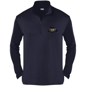 CO Springs Home School Sports League embroidered logo ST357 Sport-Tek Competitor 1/4-Zip Pullover