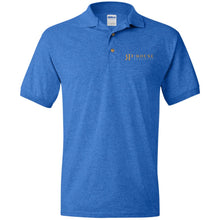 Load image into Gallery viewer, Rouse Projects - Gold & Silver embroidered G880 Gildan Jersey Polo Shirt