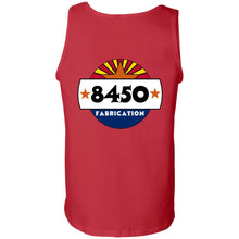Load image into Gallery viewer, 8450 Fabrication 2-sided print G220 100% Cotton Tank Top