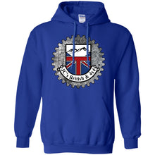 Load image into Gallery viewer, JC's British round logo G185 Gildan Pullover Hoodie 8 oz.