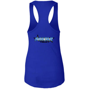 Roxtar Trux 2-sided print NL1533 Next Level Ladies Ideal Racerback Tank