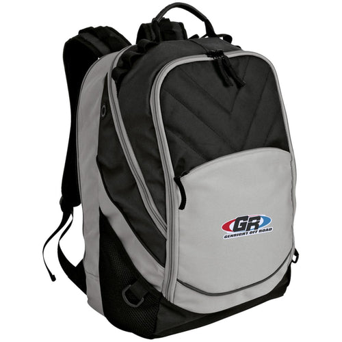 GenRight embroidered logo BG100 Port Authority Laptop Computer Backpack