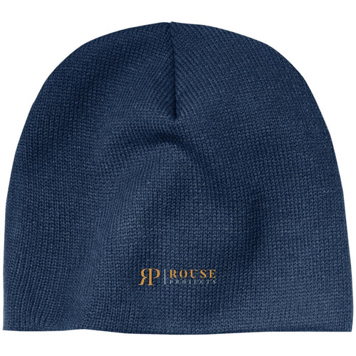 Rouse Projects - Gold & Silver embroidered CP91 100% Acrylic Beanie