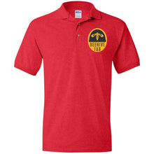 Load image into Gallery viewer, Beehive FAB embroidered logo G880 Gildan Jersey Polo Shirt