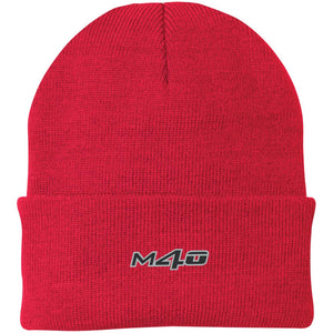 M4O embroidered logo CP90 Port Authority Knit Cap