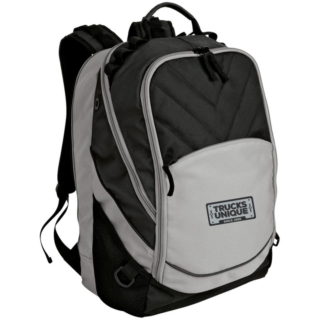 Trucks Unique black & silver embroidered logo BG100 Port Authority Laptop Computer Backpack