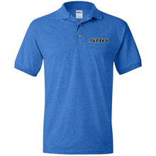 Load image into Gallery viewer, SHO embroidered G880 Gildan Jersey Polo Shirt
