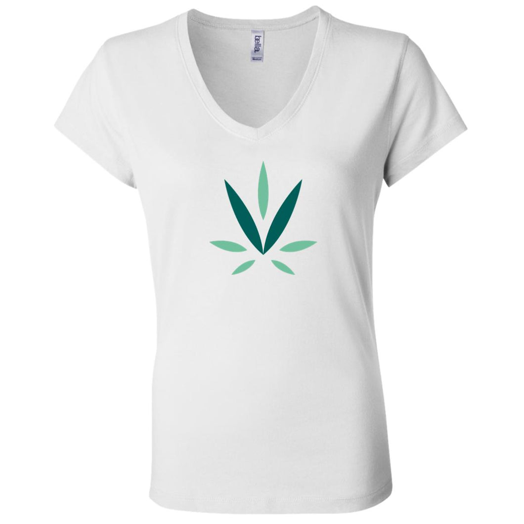 Village Vine B6005 Ladies' Jersey V-Neck T-Shirt