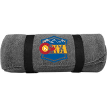 Load image into Gallery viewer, CWA embroidered logo BP10 Port & Co. Fleece Blanket