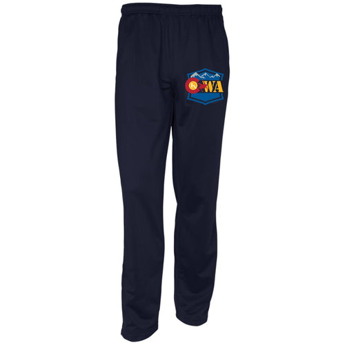CWA embroidered logo PST91 Sport-Tek Warm-Up Track Pants