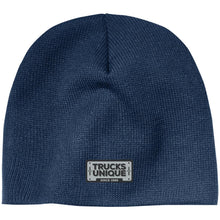 Load image into Gallery viewer, Trucks Unique black & silver embroidered logo CP91 100% Acrylic Beanie