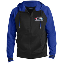 Load image into Gallery viewer, GenRight embroidered logo ST236 Men's Sport-Wick® Full-Zip Hooded Jacket