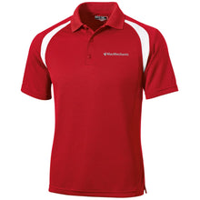 Load image into Gallery viewer, MacMechanic silver embroidered logo T476 Sport-Tek Moisture-Wicking Tag-Free Golf Shirt
