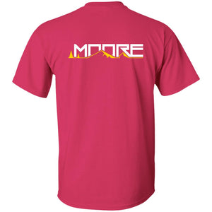 MOORE 2-sided print G500B Gildan Youth 5.3 oz 100% Cotton T-Shirt