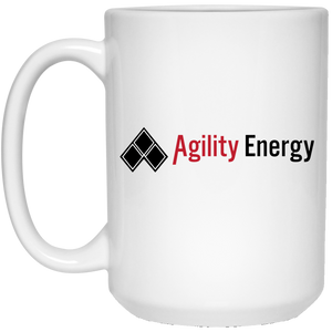 Agility Energy 21504 15 oz. White Mug