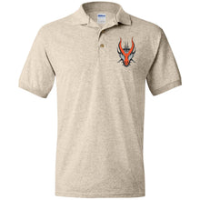 Load image into Gallery viewer, HYDRA Offroad silver embroidered logo G880 Gildan Jersey Polo Shirt