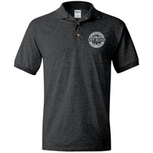 Load image into Gallery viewer, Rio Rancho Off Road embroidered logo G880 Gildan Jersey Polo Shirt