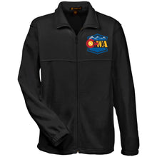 Load image into Gallery viewer, CWA embroidered logo M990 Harriton Fleece Full-Zip