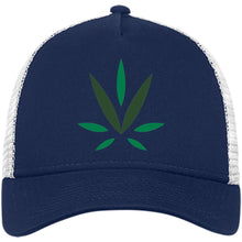 Load image into Gallery viewer, Village Vine embroidered logo NE205 Snapback Trucker Cap