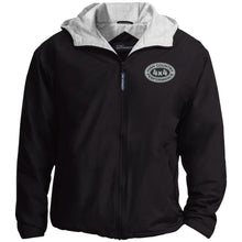 Load image into Gallery viewer, HCP4x4 silver & black embroidered logo JP56 Port Authority Team Jacket