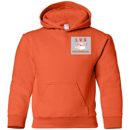 LVS Mechanical G185B Gildan Youth Pullover Hoodie